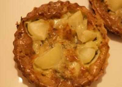 Quiche Roquefort-Birne