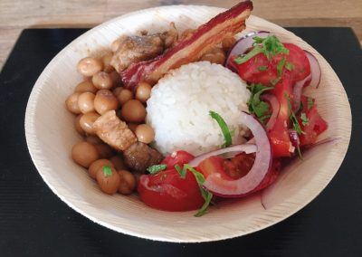 Malagasy Cassoulet (Voanjobory)